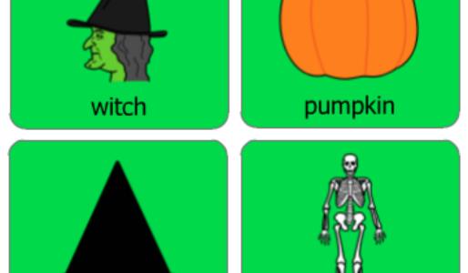 colourful semantics halloween